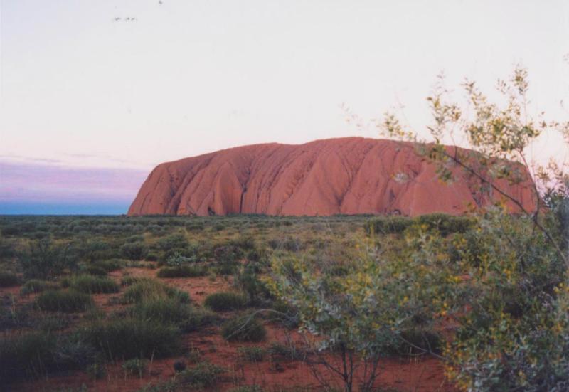 uluru-at-sunset-northern-territory-Australia
