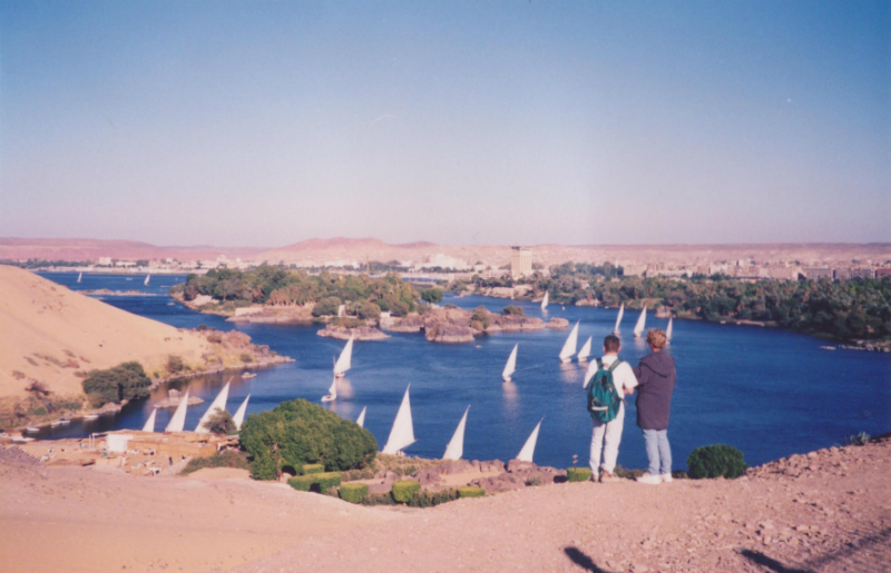 Nile-River-at-Aswan-in-Egypt