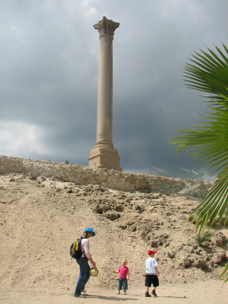 in-front-of-pompeys-pillar-alexandria