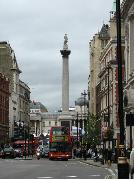 looking-towards-trafalgar-square-London-UK