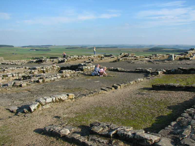 Homesteads-Roman-fort-UK