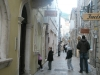 Narrow-old-city-streets-in-Budva-Stari-Grad-Montenegro