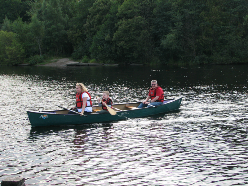 Canoeing-on-Loch-Lomond