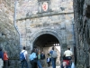 Waiting-at-portcullis-gate-at-Edinburgh-Castle-Scotland