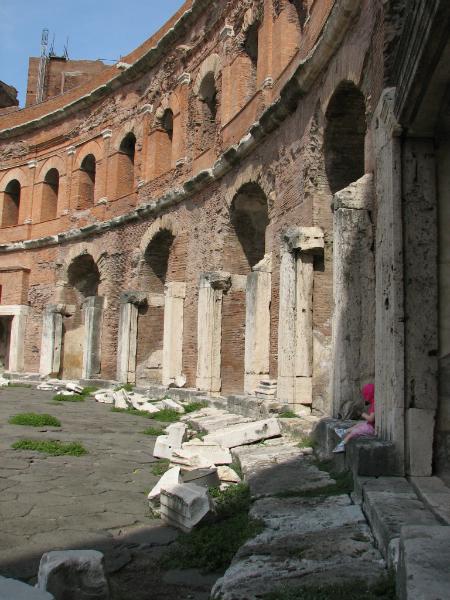 At-Trajans-market-in-Rome-Italy