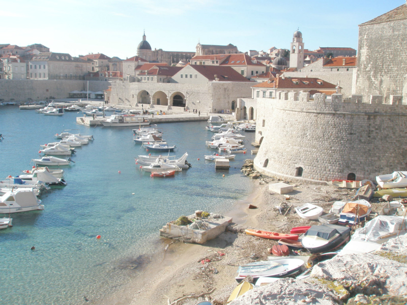 Visiting-Dubrovnic-old-city-Croatia