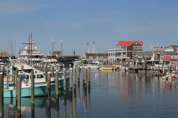 Cape May Harbor fishing boats