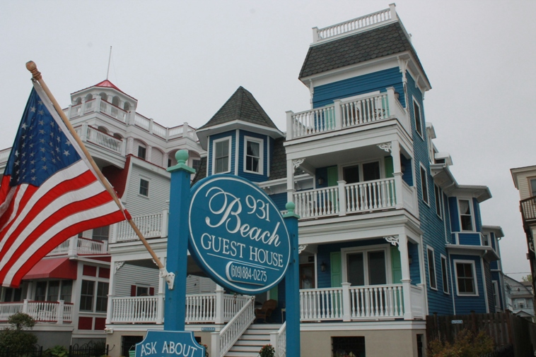 Iconic vacation places at Cape may NJ