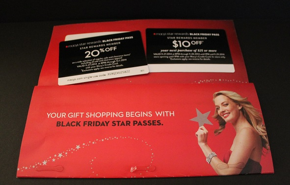 Macy's coupon mailer for customers