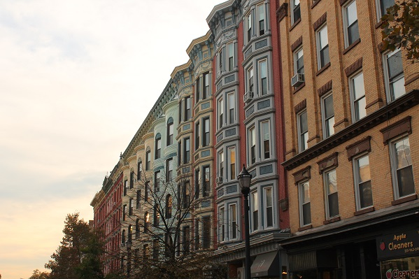 Historic-brownstones-preserved-from-waterfront-days-in-Hoboken-NJ