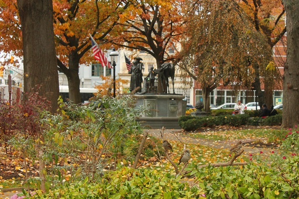 The-Green-Morristown-NJ-in-fall