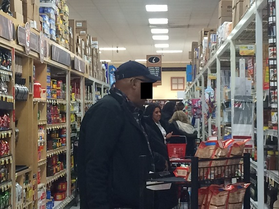 shopping in baking aisle for an expat in NJ