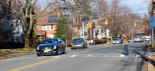 nj drivers go through crosswalk