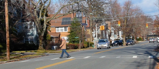 nj drivers at pedestrian crossings