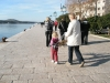 Walking-along-waterside-Sibenik-Croatia