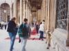 Walking-in-the Ibn-Tulun-mosque-in-Cairo