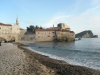 View-of-Stari-Grad-and-adjacent-beach-at-Budva-Montenegro