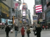 Visiting-Time-Square-in-winter