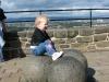 The-cannon-balls-at-edinburgh-castle