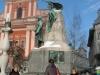 Statue-of-Preseren-at-Preseren-Square-Ljubljana-Slovenia