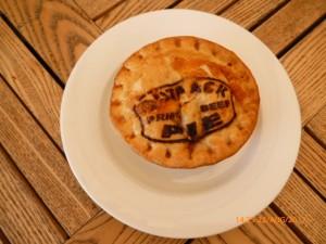 An Australian meat pie made in QLD