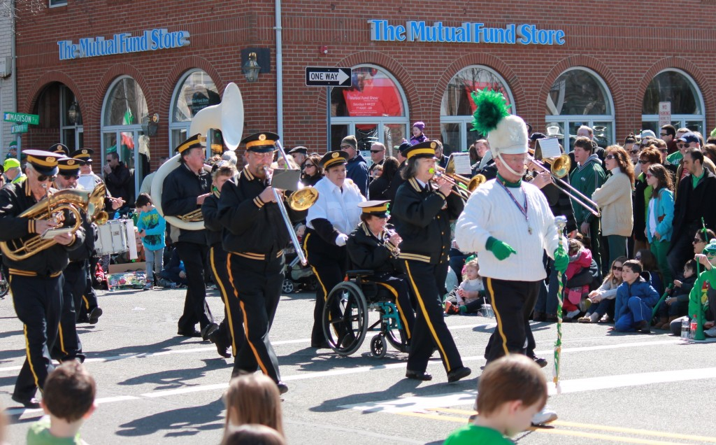 drum-major-leads-his-marching-band-morristown-nj