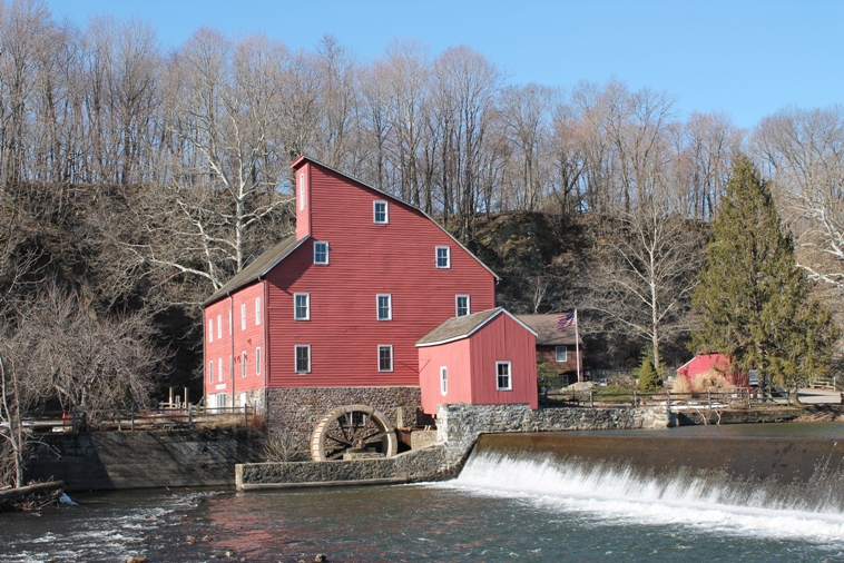 The Old Red Mill  at Clinton NJ