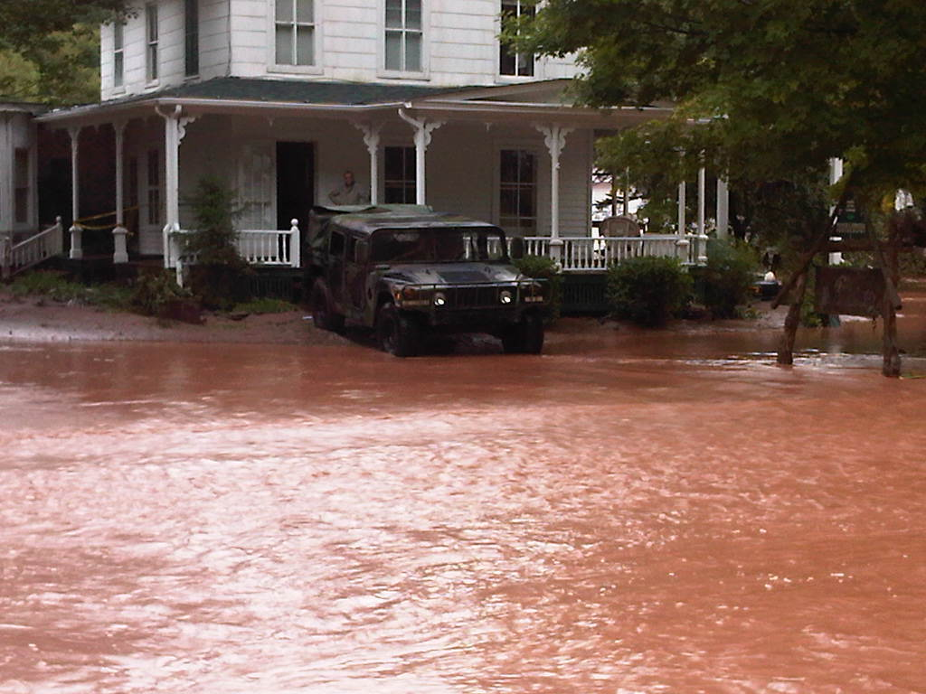 As Hurricane Irene ends New York National Guard mission focus shifts to Catskill Mountain area