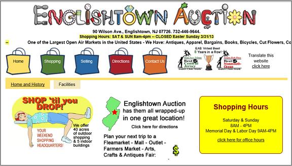 Englishtown-Flea-Markets