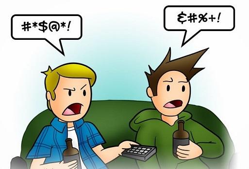 An expat in NJ should avoid swearing