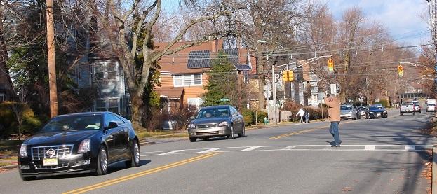 nj drivers do not like stopping at crosswalks