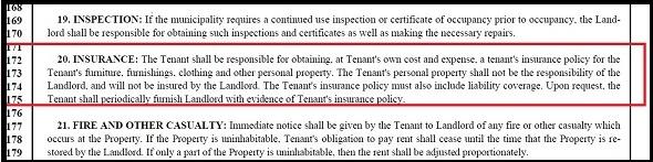 Renters Insurance New Jersey